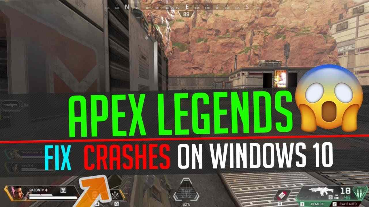 apex legends crashing pc
