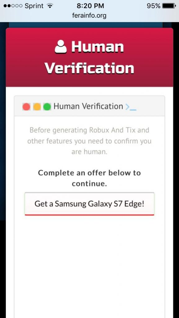 how to bypass human verification