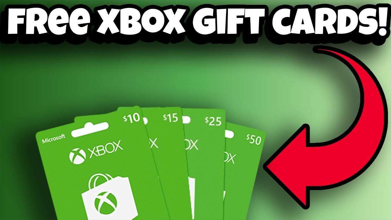 free xbox gift cards