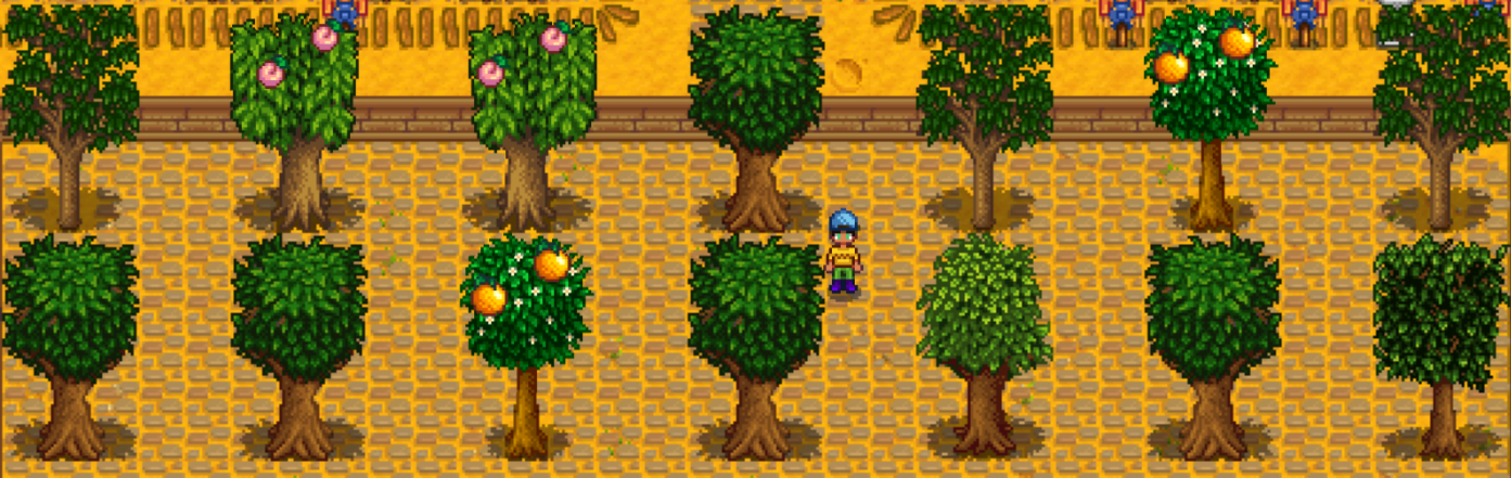Growth Cycle: Stardew Valley Trees