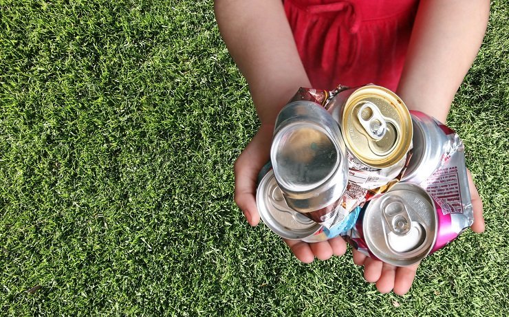 Earn Money By Collecting Bottles and cans