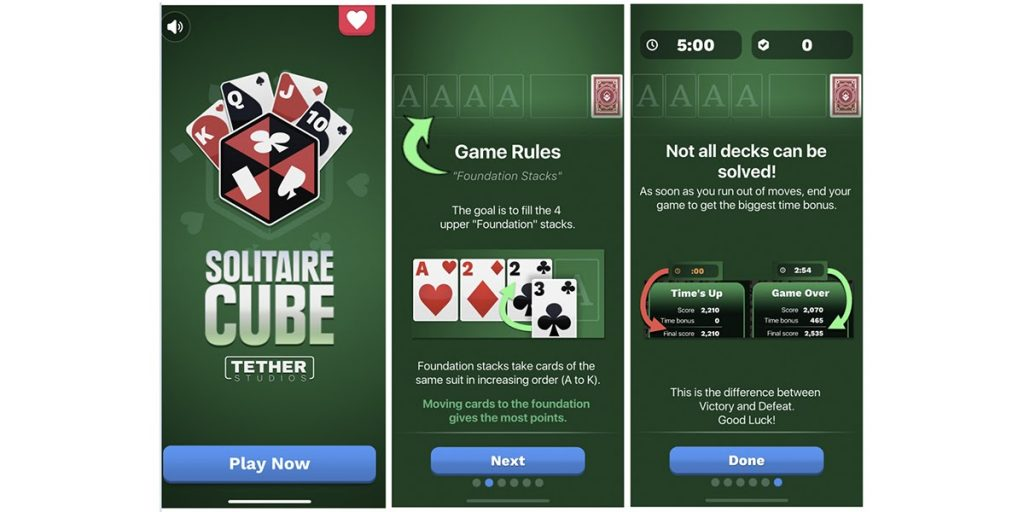 Solitaire Cube