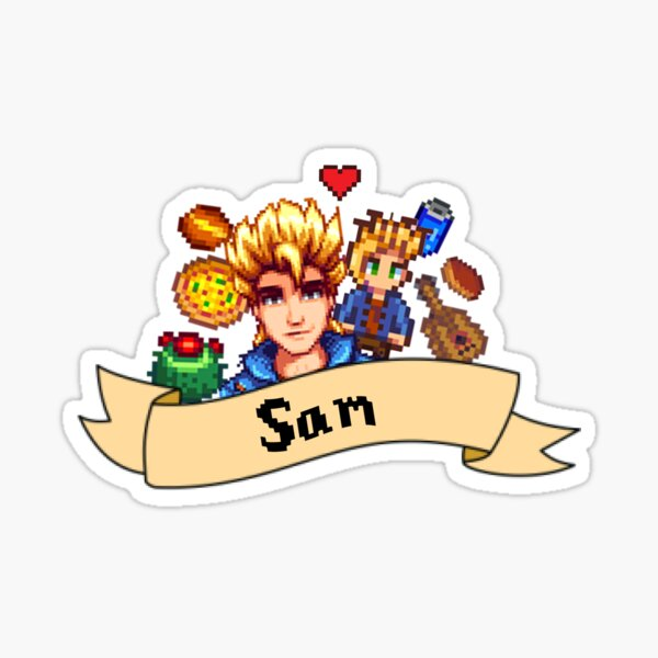 What does Sam Like in Stardew Valley?