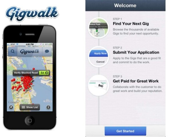 Gigwalk - Apps that pay you