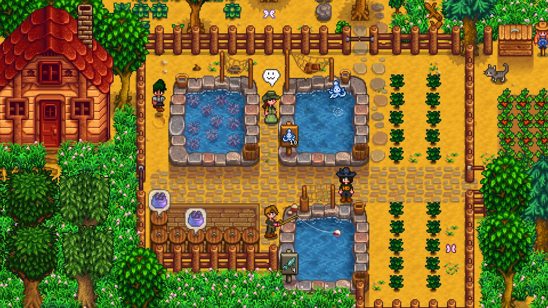 scarecrow stardew valley tips and tricks