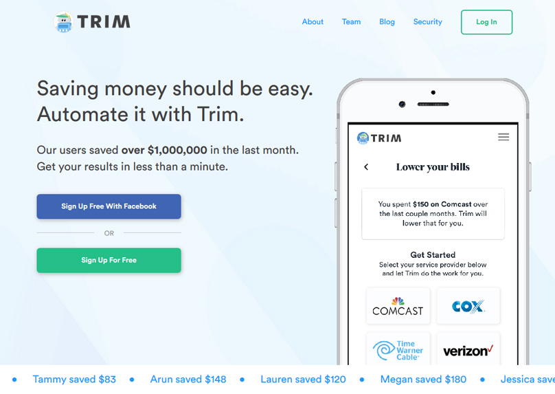 Apps that Pay you - Trim